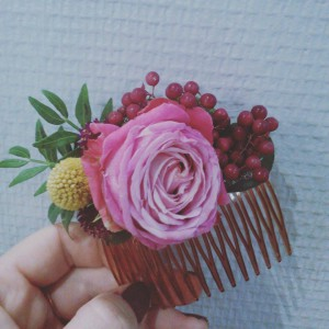Peigne Floral 2