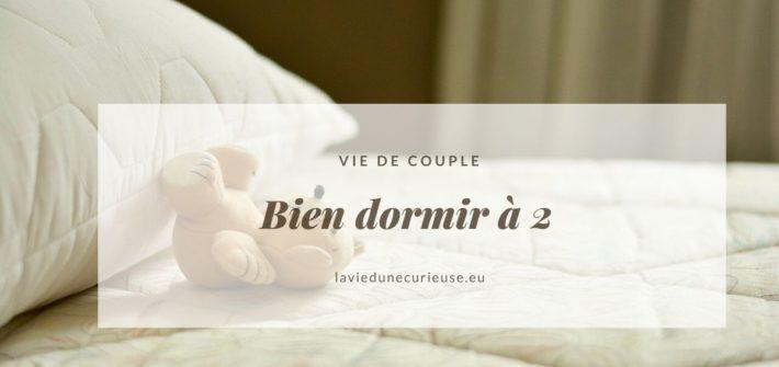 dormir - couple